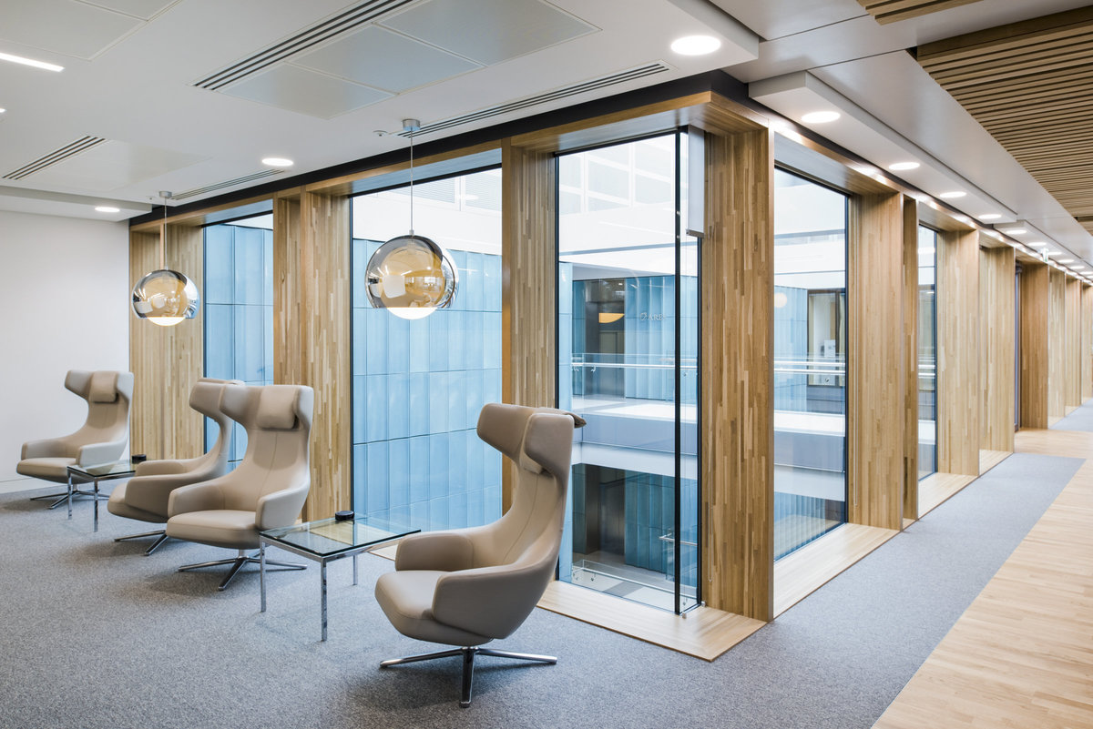 modern office interior London