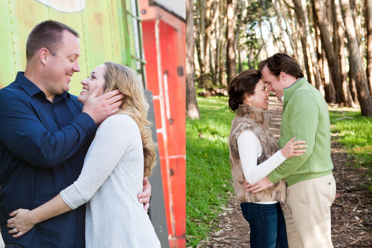 San Jose History Park, Engaged, Engagement Pictures, Jennifer Baciocco Photography, train, Golden Gate Park, Presideo