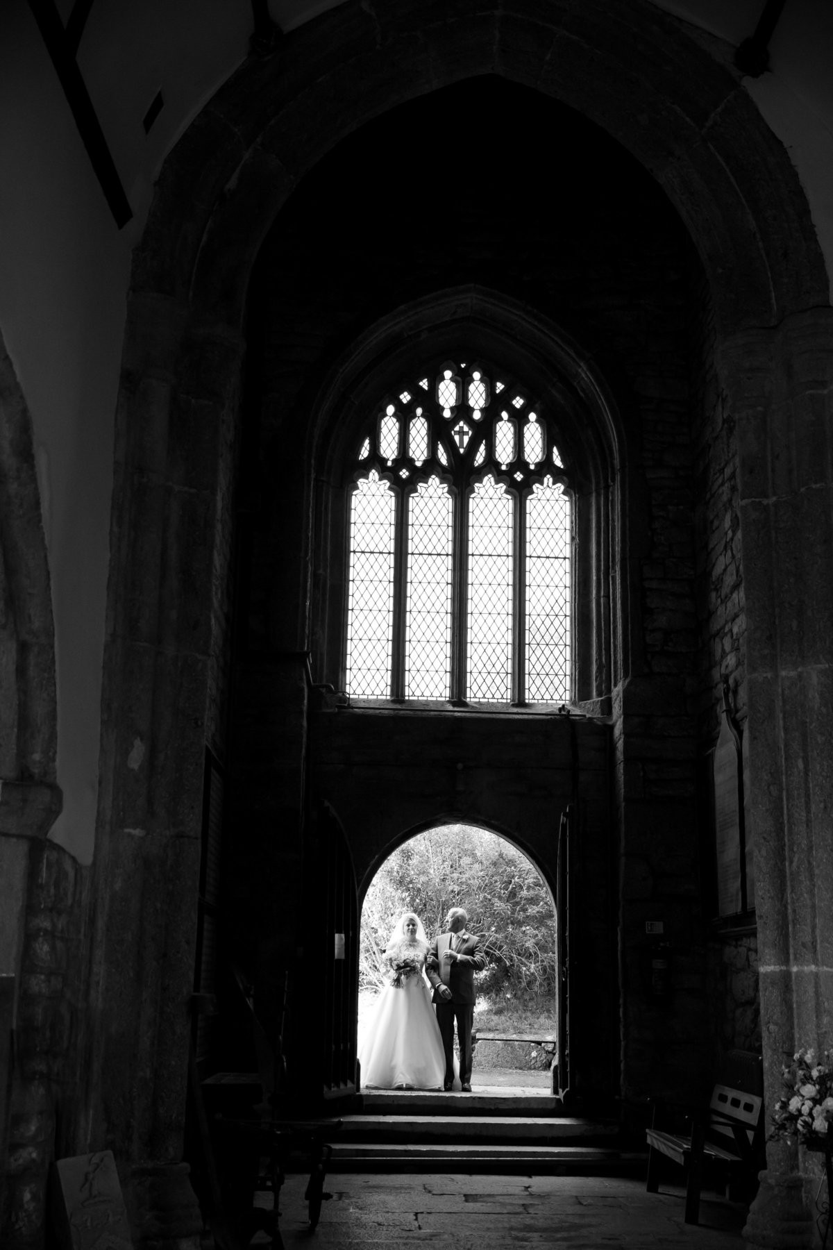 church wedding on dartmoor