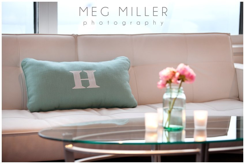 Anne & Andy - Monogram Pillow