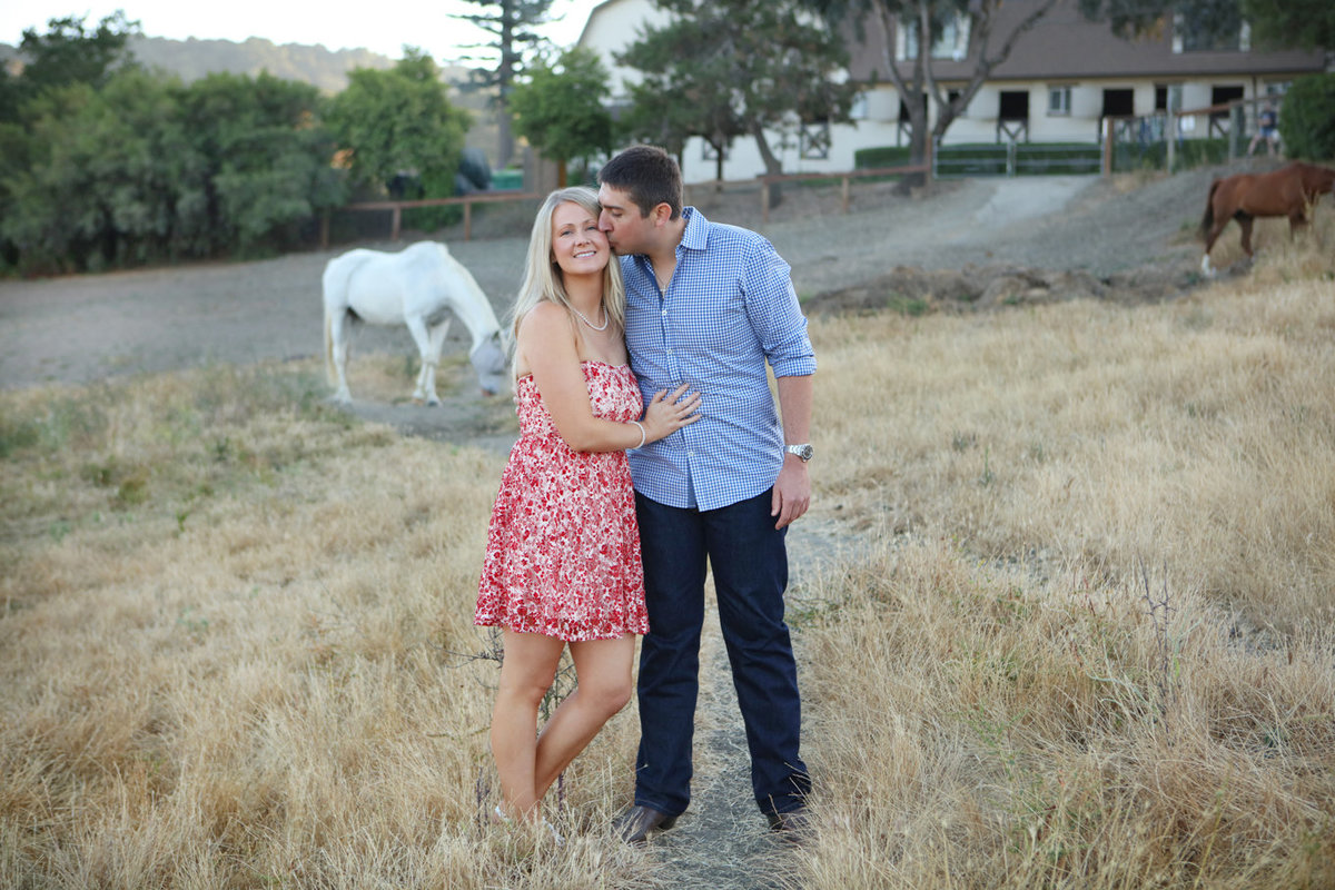 Westwind Community Barn Los Altos Hills Engagement Photography