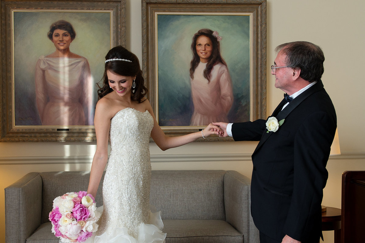 Wedding Portraits at Westin Colonnade