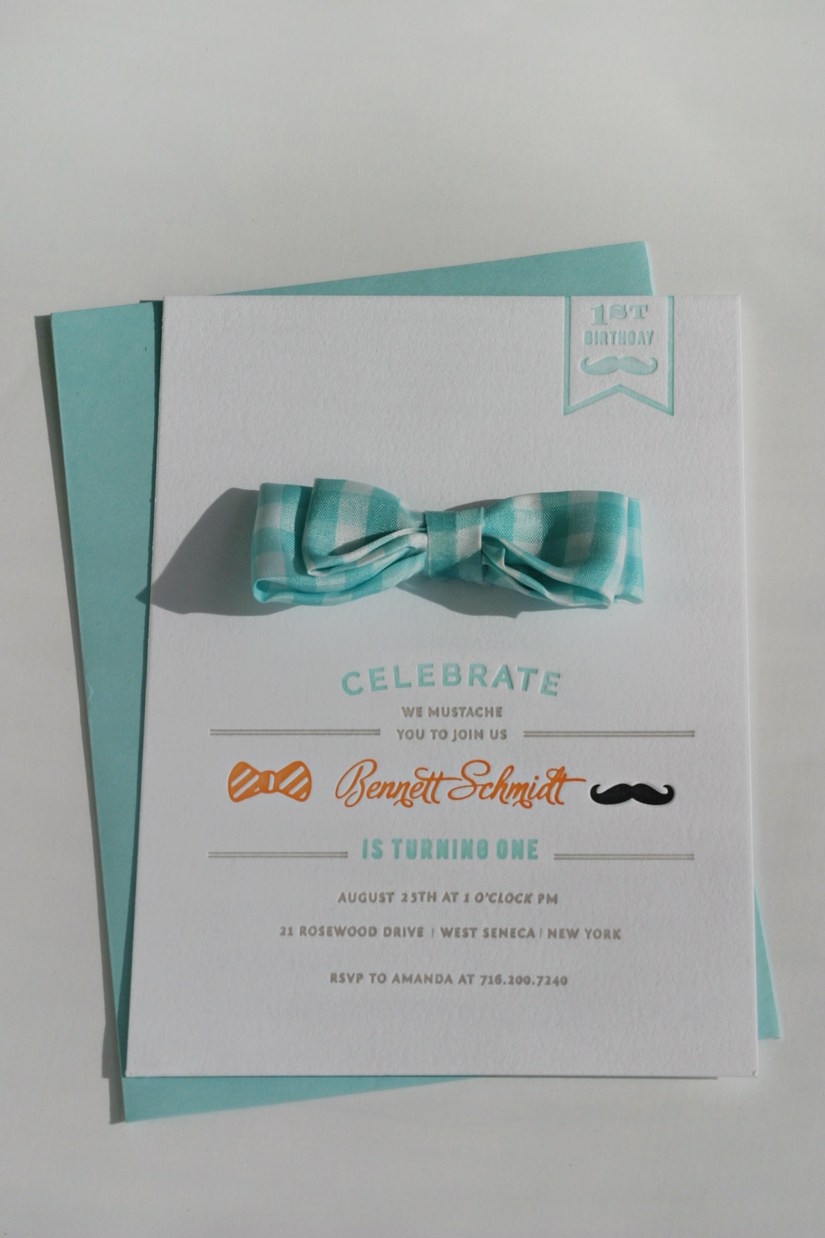 Dapper-Mustache-Bowtie-First-Birthday-Invitation