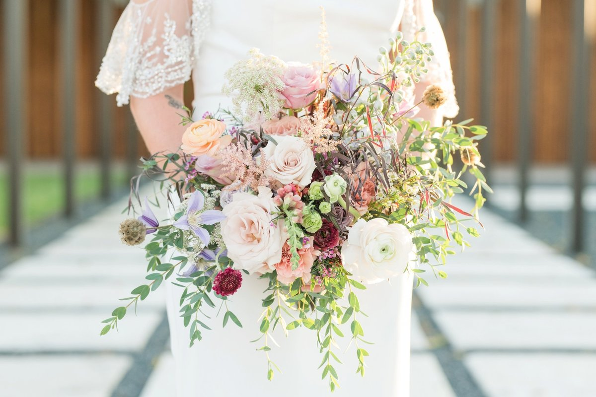 Celebrino Event Center Bridal Bouquet by Flora Fetish