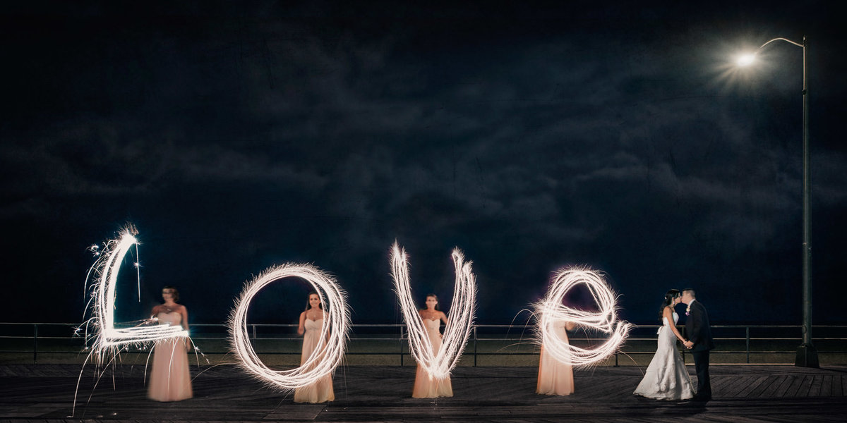 NJ Wedding Photographer Michael Romeo Creations Fav - 20140809 - MRC Signature - Sparklers-2