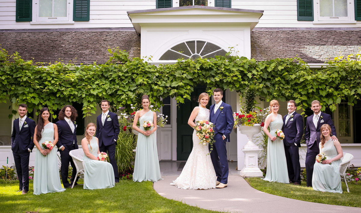 Burlington Niagara Toronto Wedding Photographers Bridal Party At