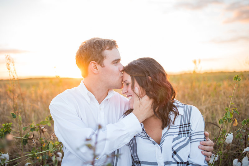 Sunset Engagement Session by Georgia Wedding Photographer Eliza Morrill-41