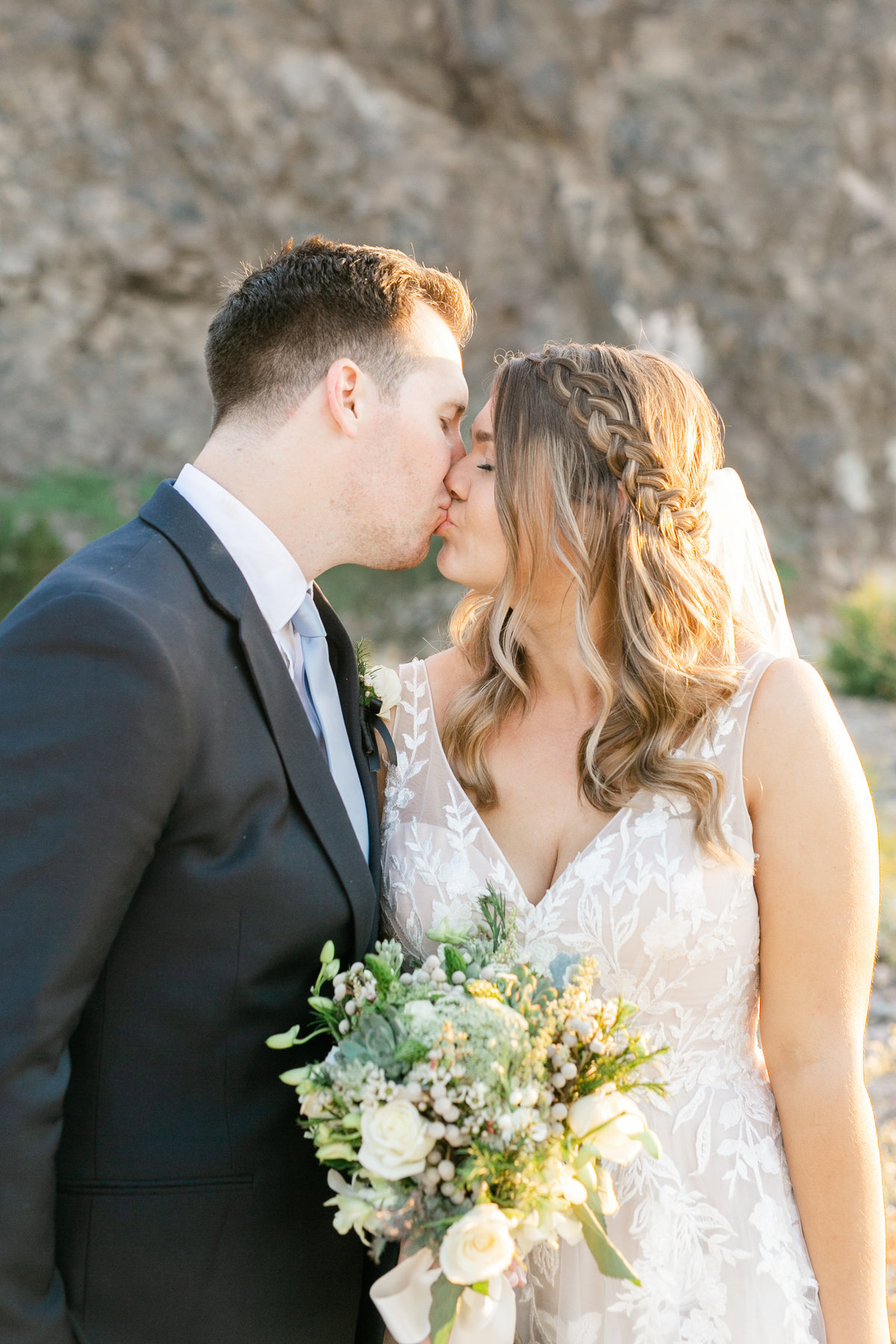 Karlie Colleen Photography - Arizona Backyard wedding - Brittney & Josh-200