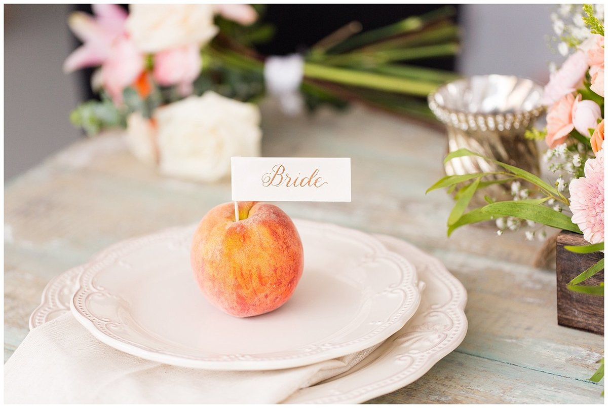 Southern Peach Styled Shoot Arbor Haven-029