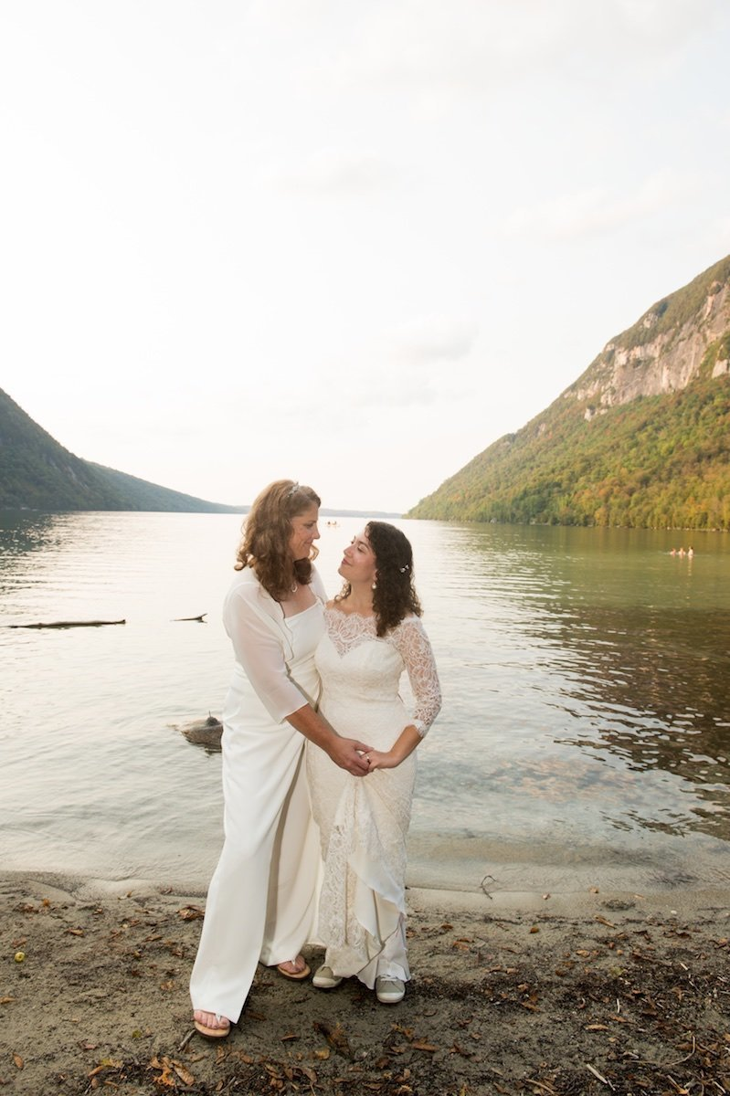 female same sex wedding photographer in Vermont 1
