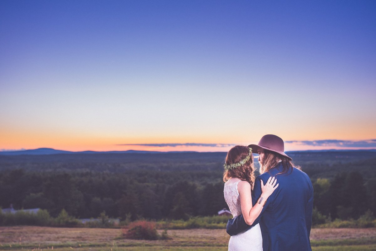 fruitlands-museum-wedding-sunset