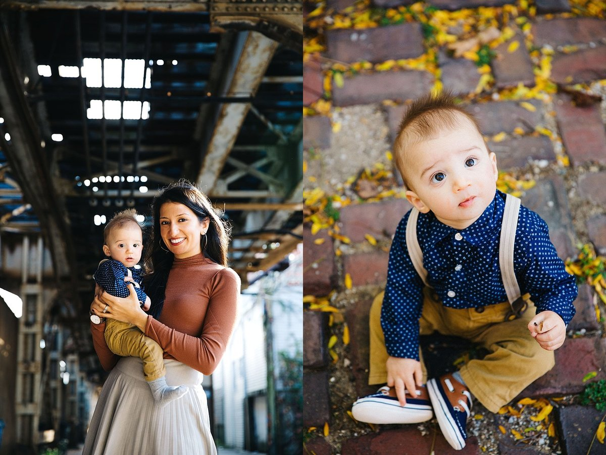 I'm a Chicago Family Portrait Photographer specializing in on  location natural light photography, Lincoln Park
