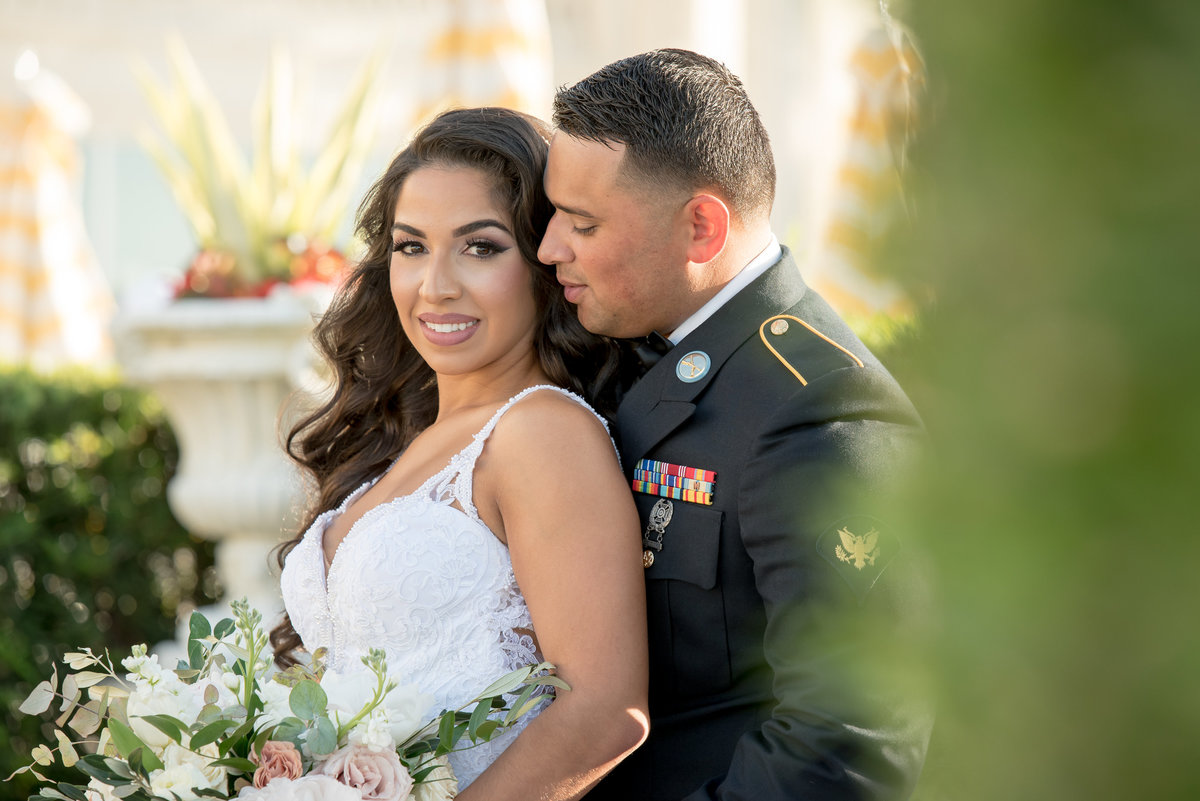 Military Veterans Day Wedding
