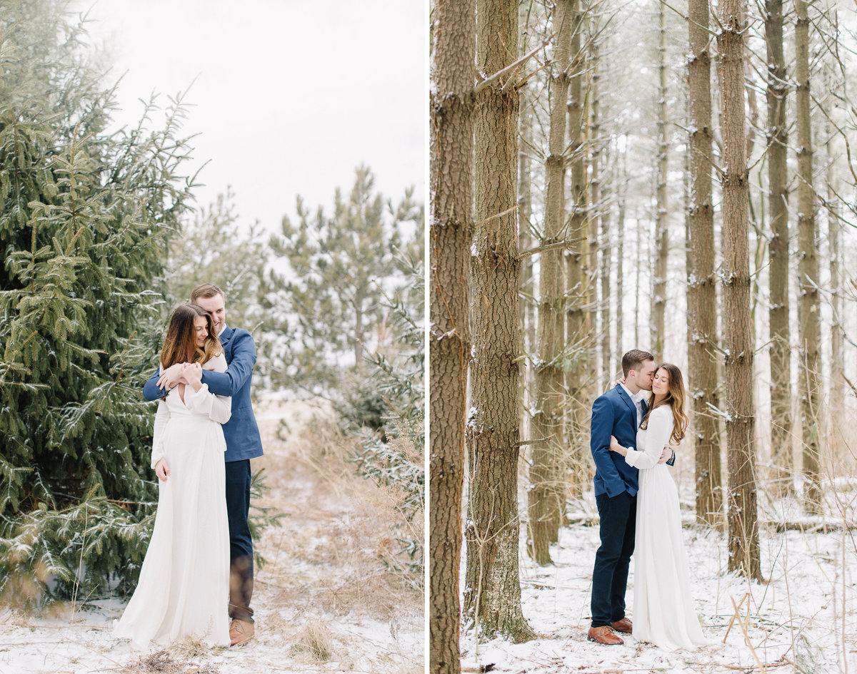 peoria il stephanie bartman photography winter wedding copy