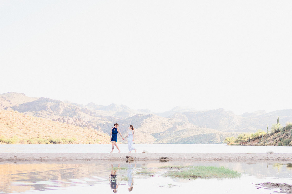 Atlas Rose Photography AZ Saguaro Lake Engagment Experience 03