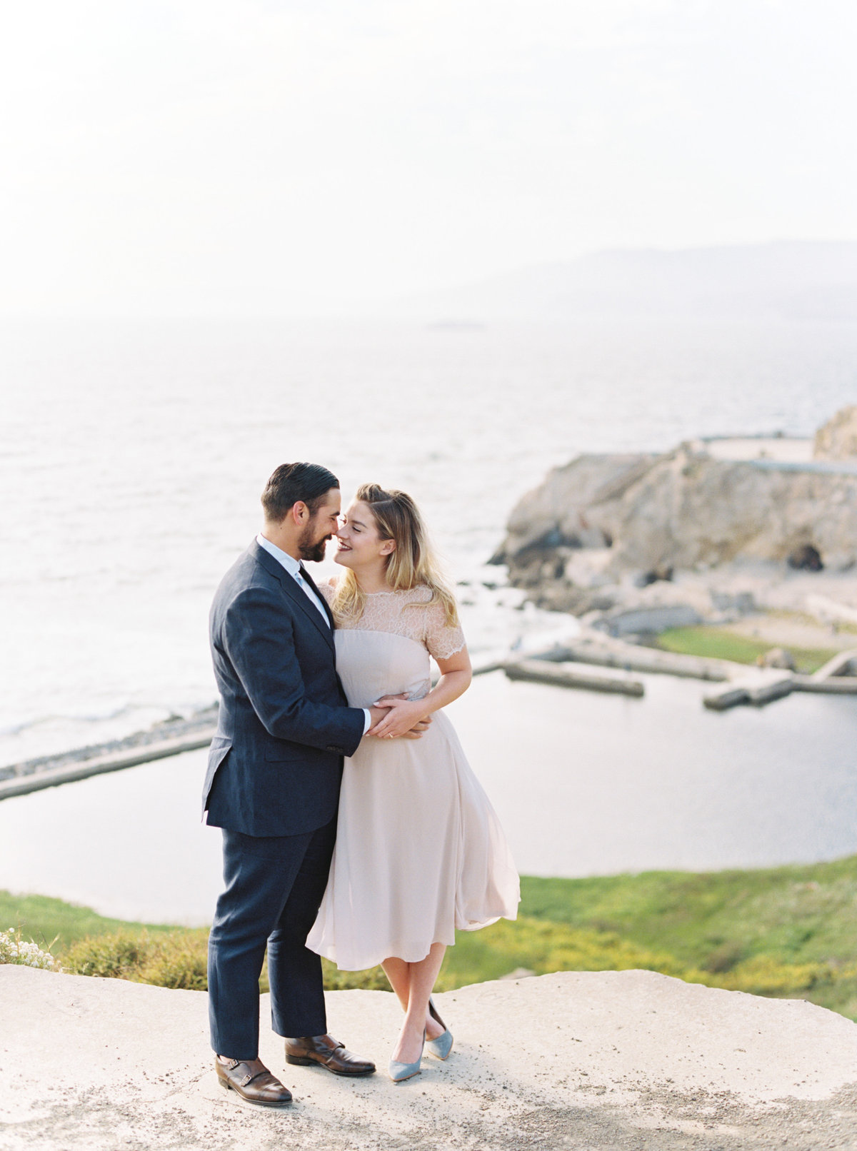 Carly + Luis San Francisco Engagement Session - Cassie Valente Photography 0002