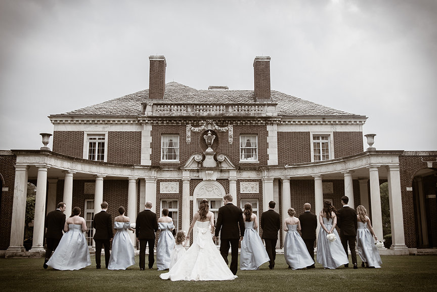 Bridal Party - De Seversky Mansion, New York - Imagine Studios Photography - Wedding Photographer