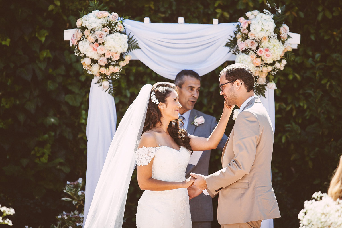 Garden Wedding Ceremony Sacramento