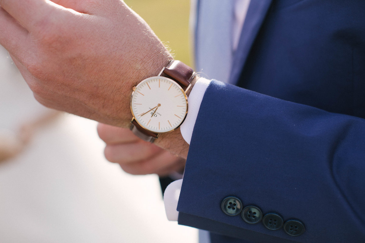 groom wristwatch