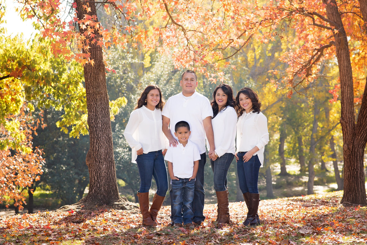 Fresno, CA Fall Family Session
