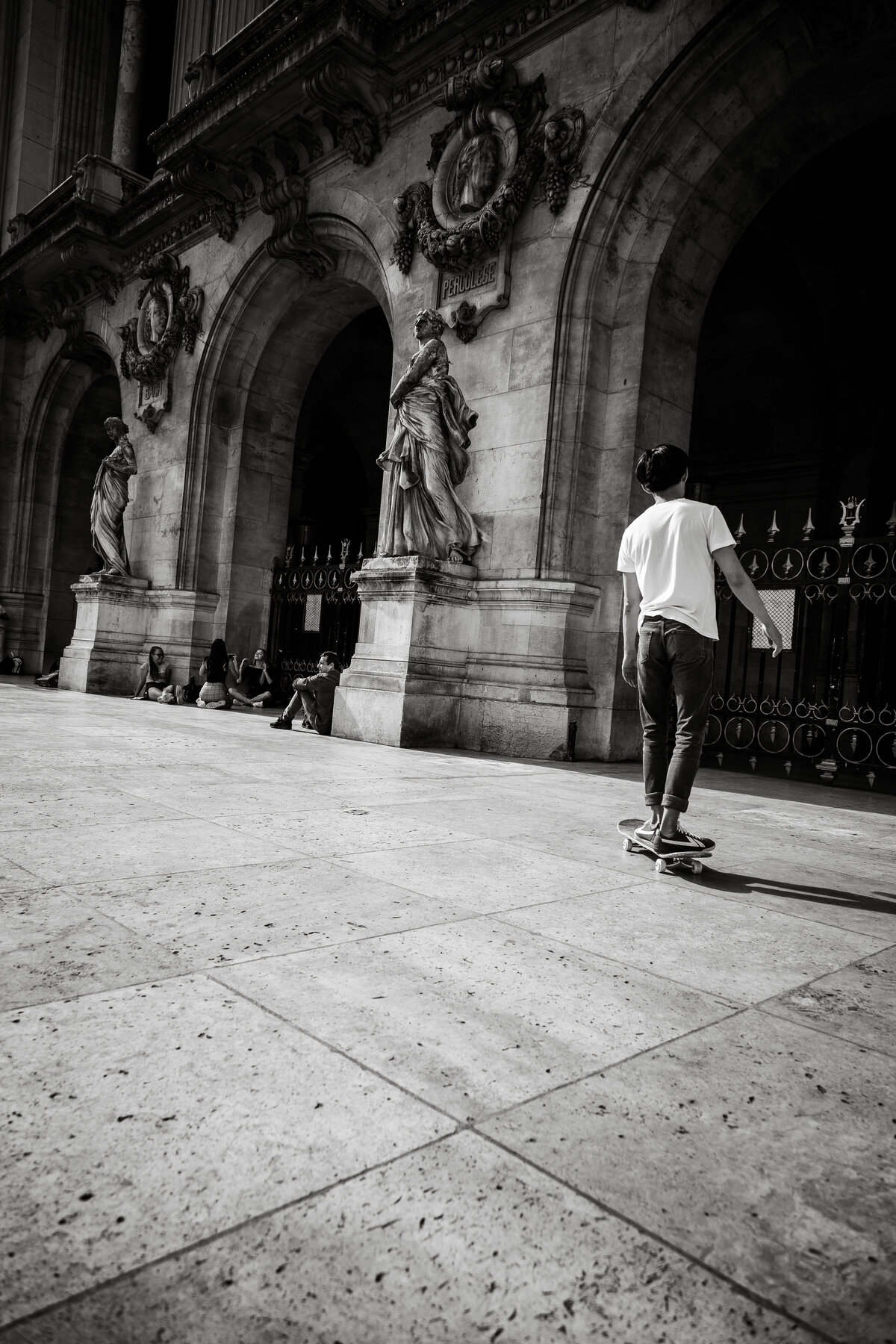 Streets of Paris BW 94