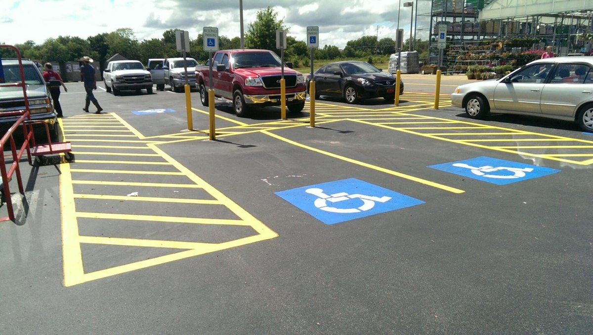 Lowes-Durant, OK-Striping Pics (20)