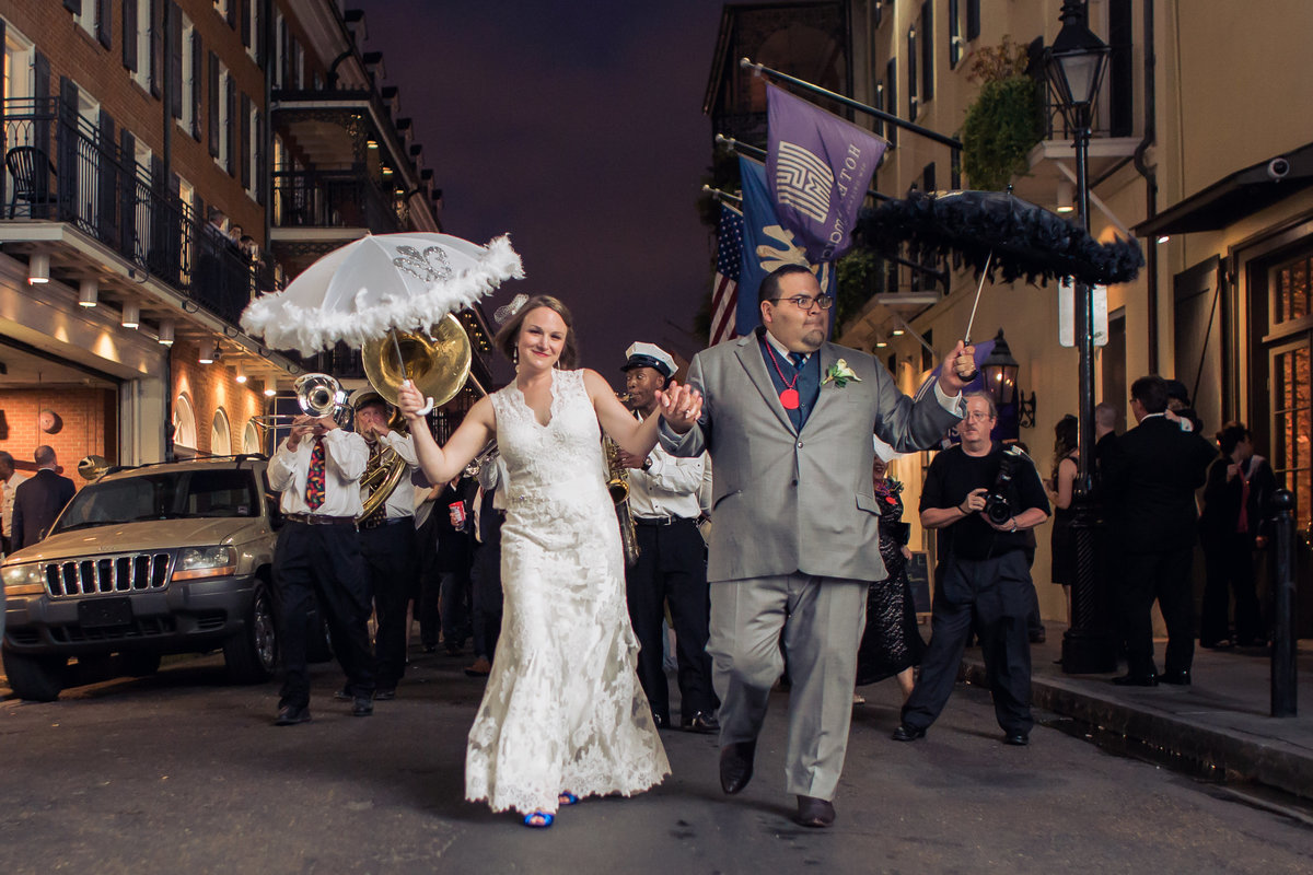 French quarter wedding photography