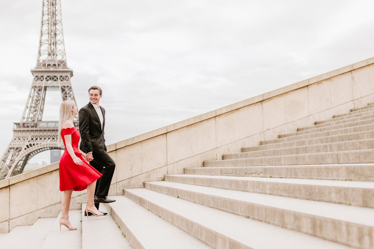 eiffel-tower-couple-romantic-badgley-mischka-red-gown-photo-1