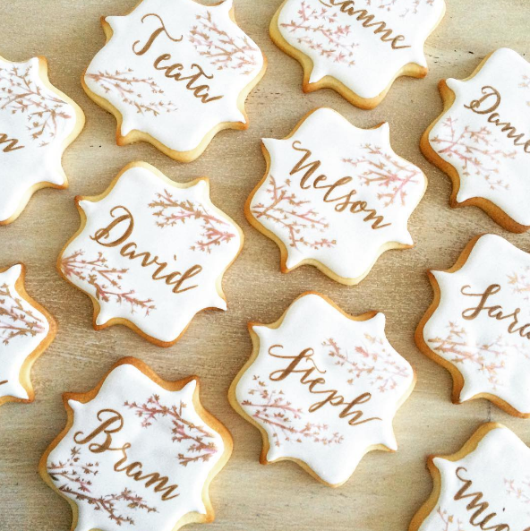 Whippt Sugar Cookie place cards