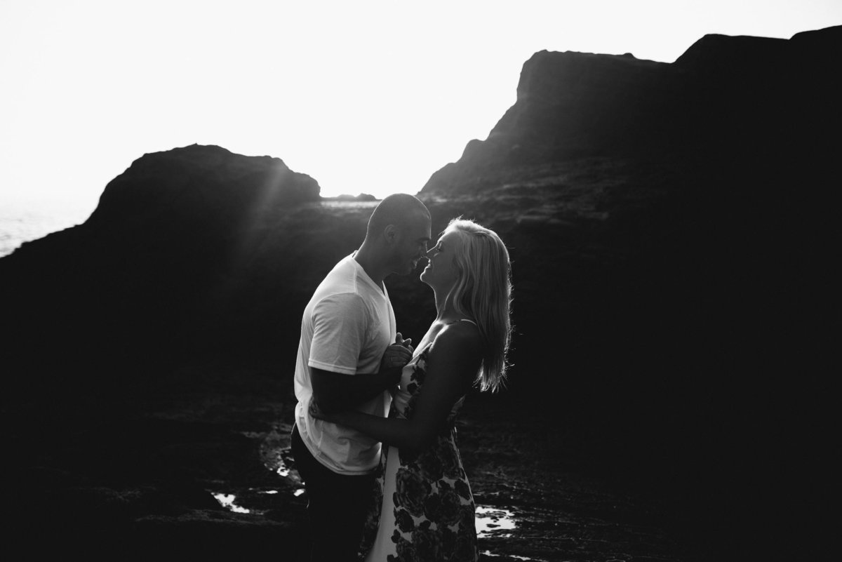 Eternity Beach Honolulu Hawaii Destination Engagement Session - 30