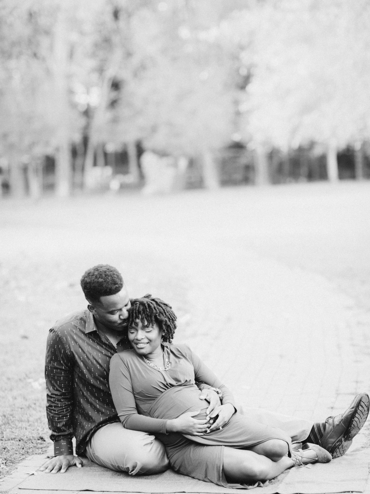 Johnson Maternity Session Whittier Mill Park-34