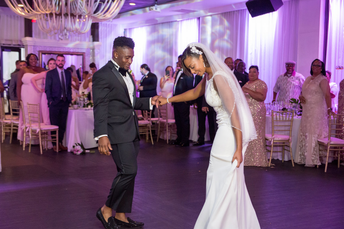 NFL Miami Dolphins Brandon Radcliff ShaKyra Radcliff Briza on the Bay Wedding Andrea Arostegui Photography-238