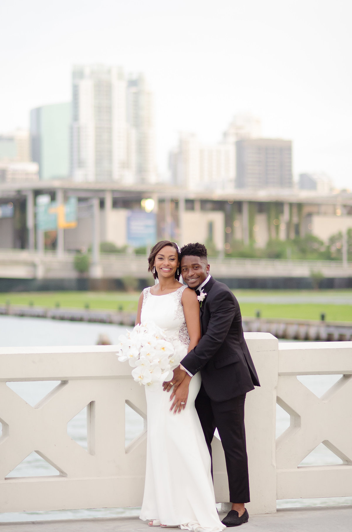 ShaKyra Brandon Radcliff Miami Dolphins Football Running Back Wedding-6