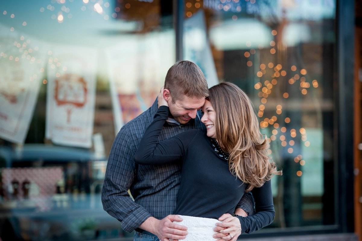 Downtown Fargo engagement sessions by Kris Kandel (2)