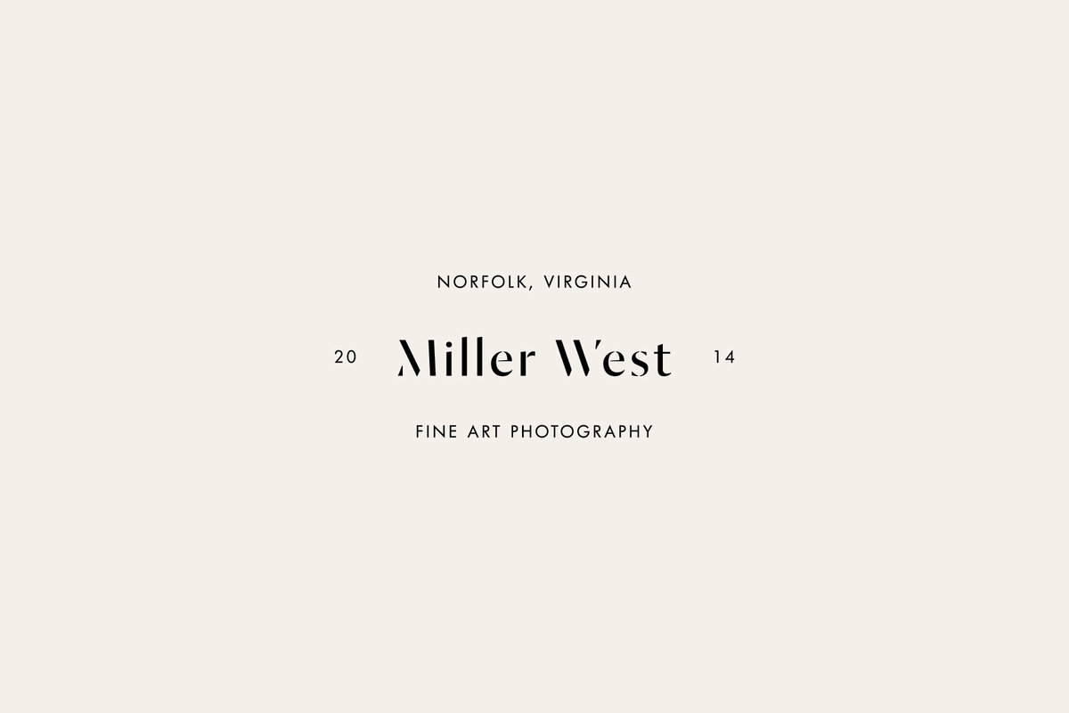 Miller West Modern affordable Pre-Made Brand for Creatives