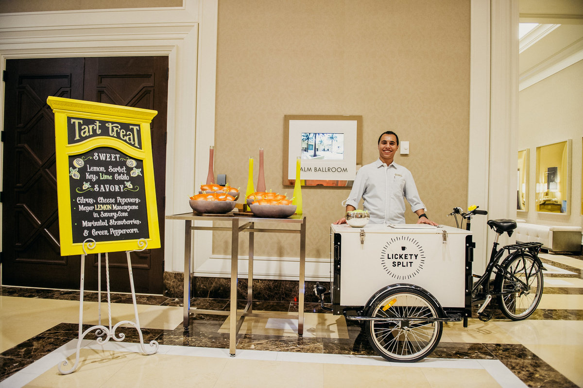 lemonade break time gelato station corporate events orlando