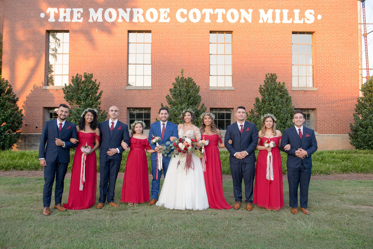 The Monroe Cotton Mills