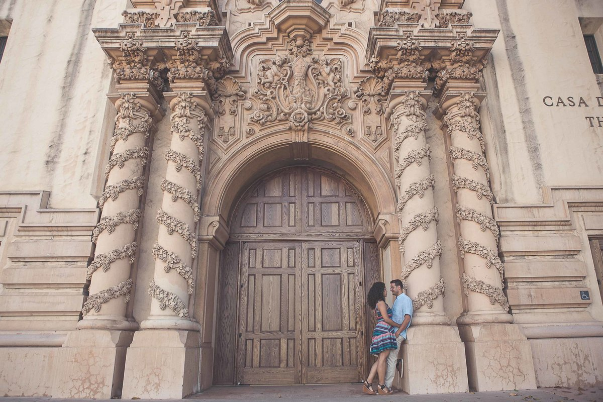 Balboa Park Engagement Photos -2