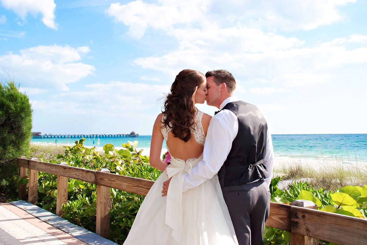 naples pier 8th ave south naples florida wedding