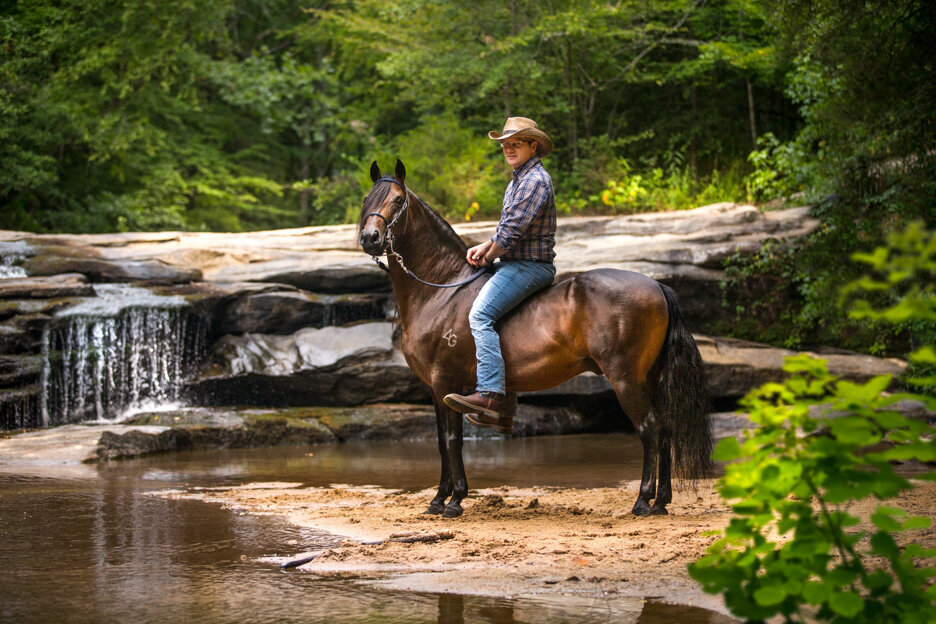 stunning-steeds-photo-waterfall-paso-fino-bareback