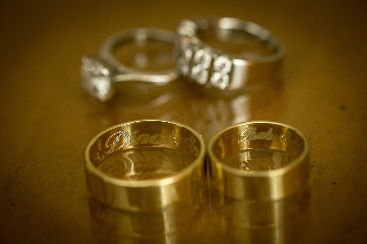 Wedding Gold Rings_