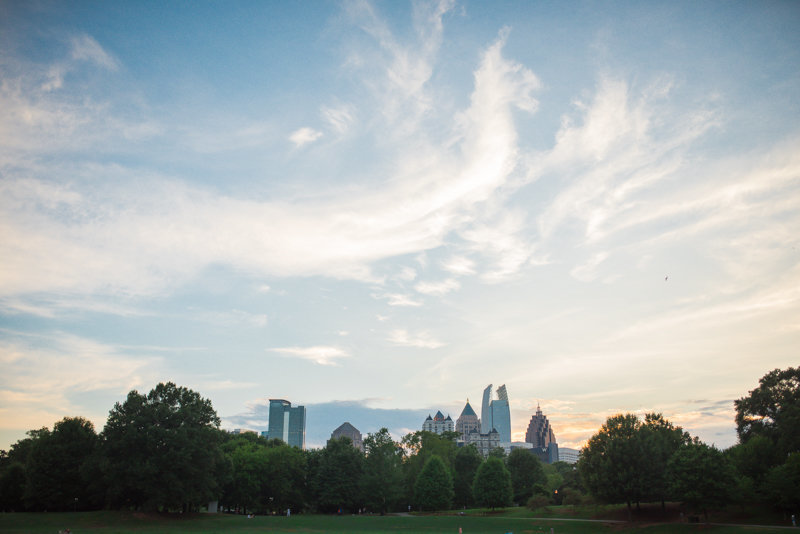 Atlanta Wedding Photographer Eliza Morrill engagement session at summerour studio, ponce city market, and piedmont park-38