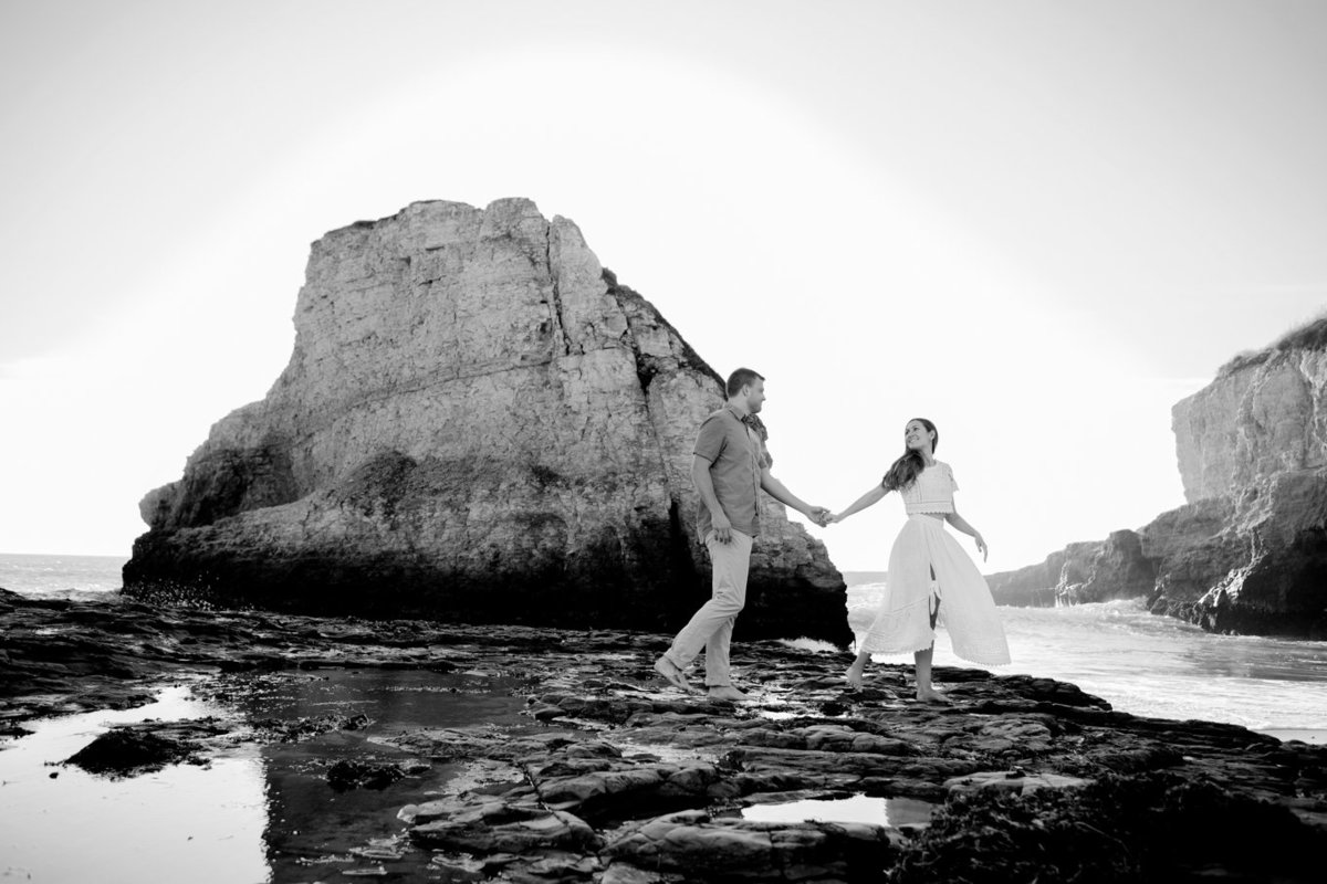 Young couple, northern california wedding photos with deneffe studios dramatic portraits