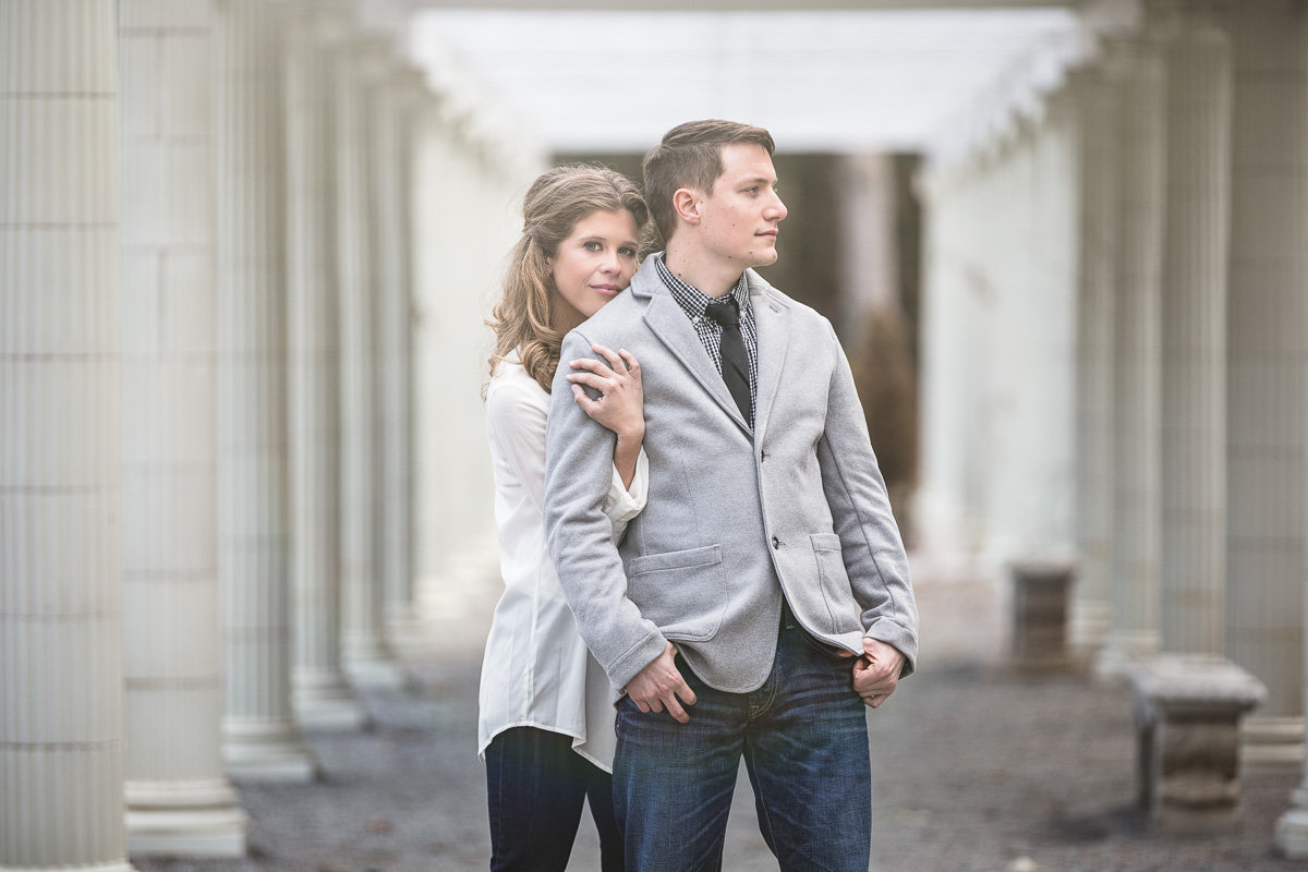 Saratoga Engagement Session - Yaddo Gardens