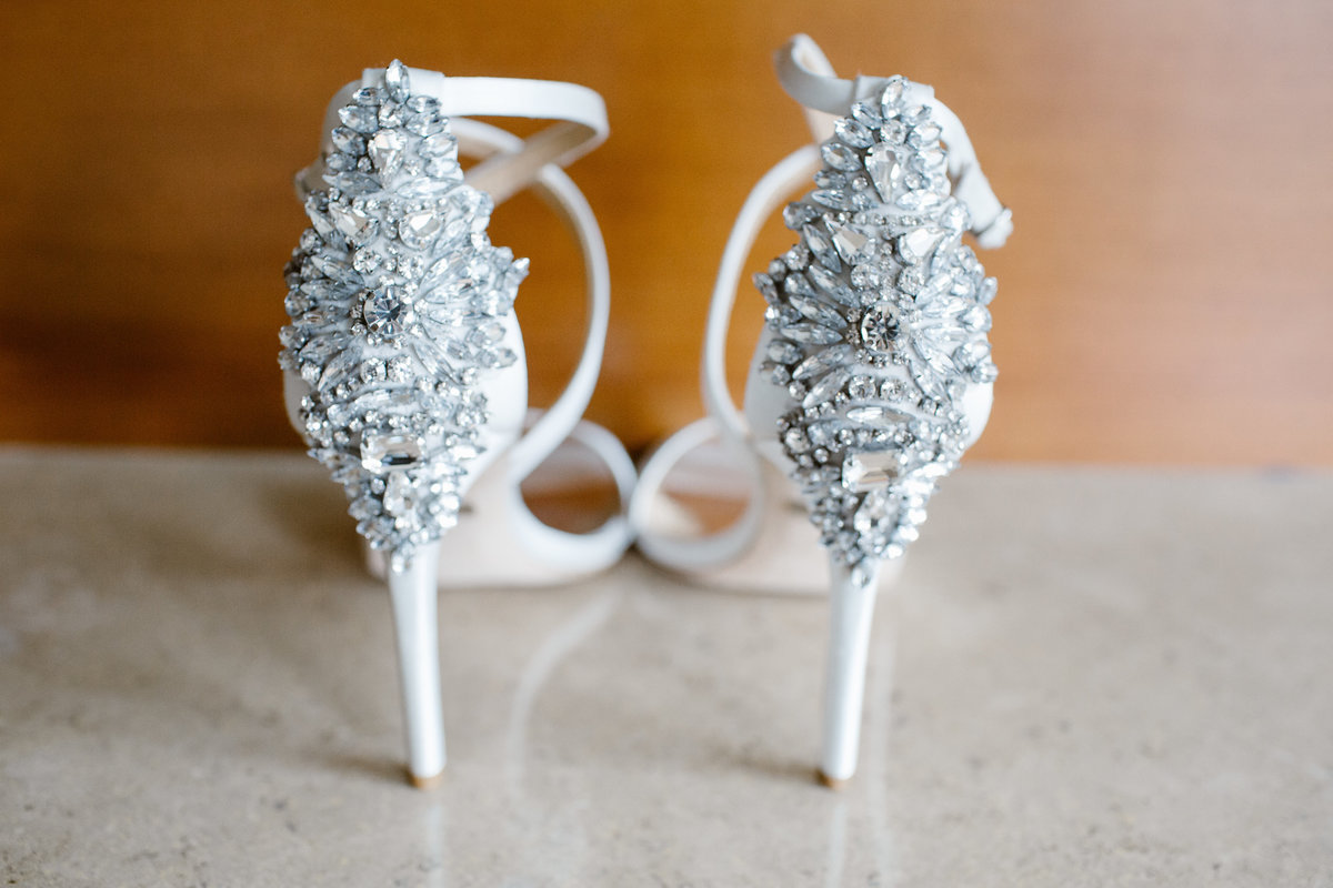 Bride's wedding shoes Bastyr Univeristy Chapel Hollywood Schoolhouse Woodinville