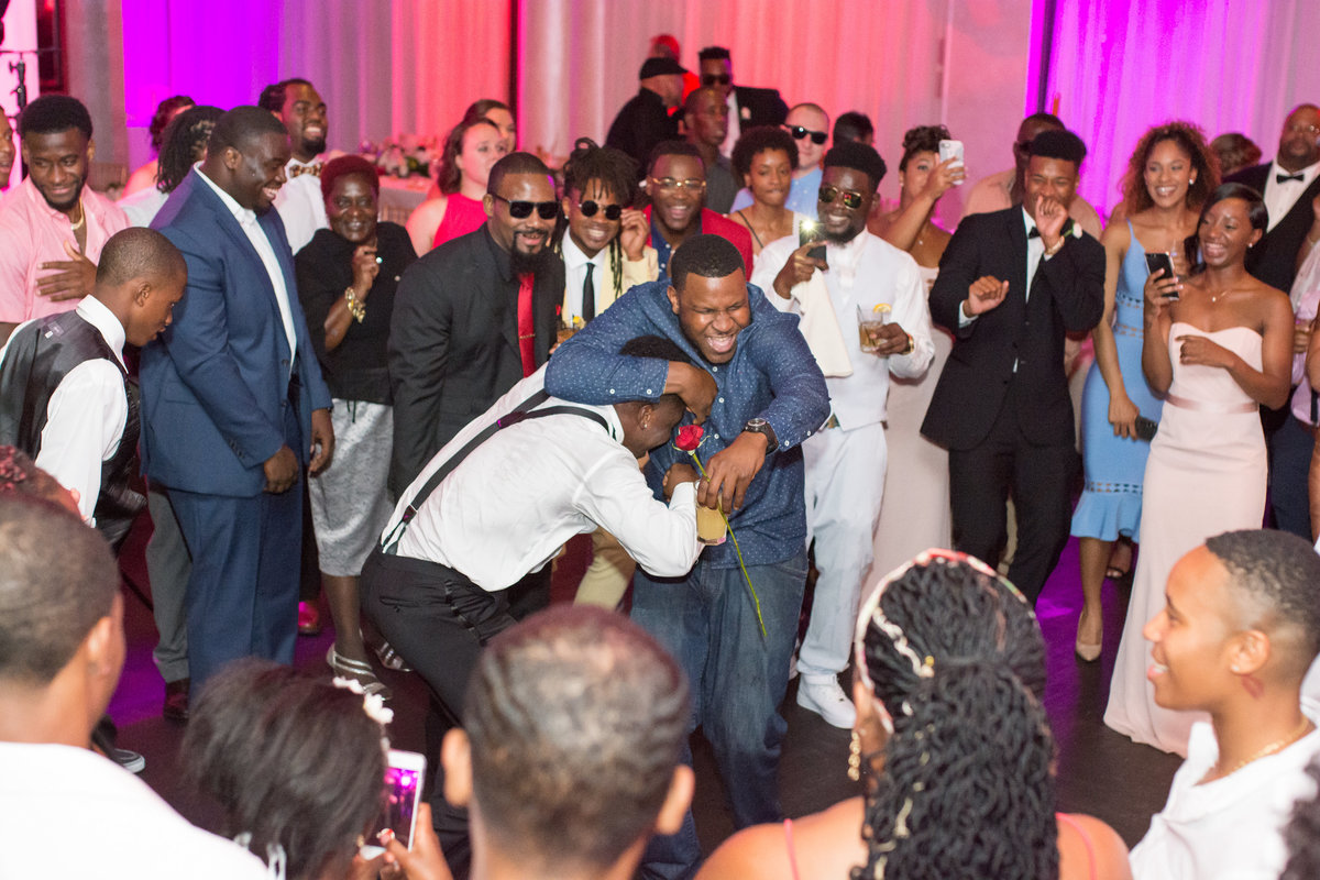 NFL Miami Dolphins Brandon Radcliff ShaKyra Radcliff Briza on the Bay Wedding Andrea Arostegui Photography-308