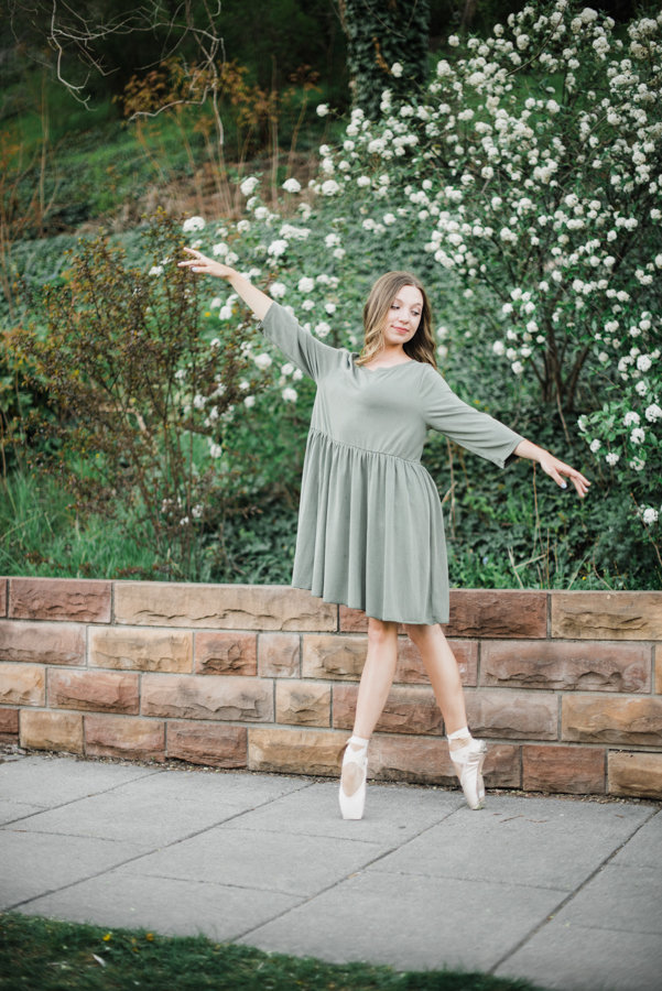 Ballet Senior Portraits Salt Lake City Utah