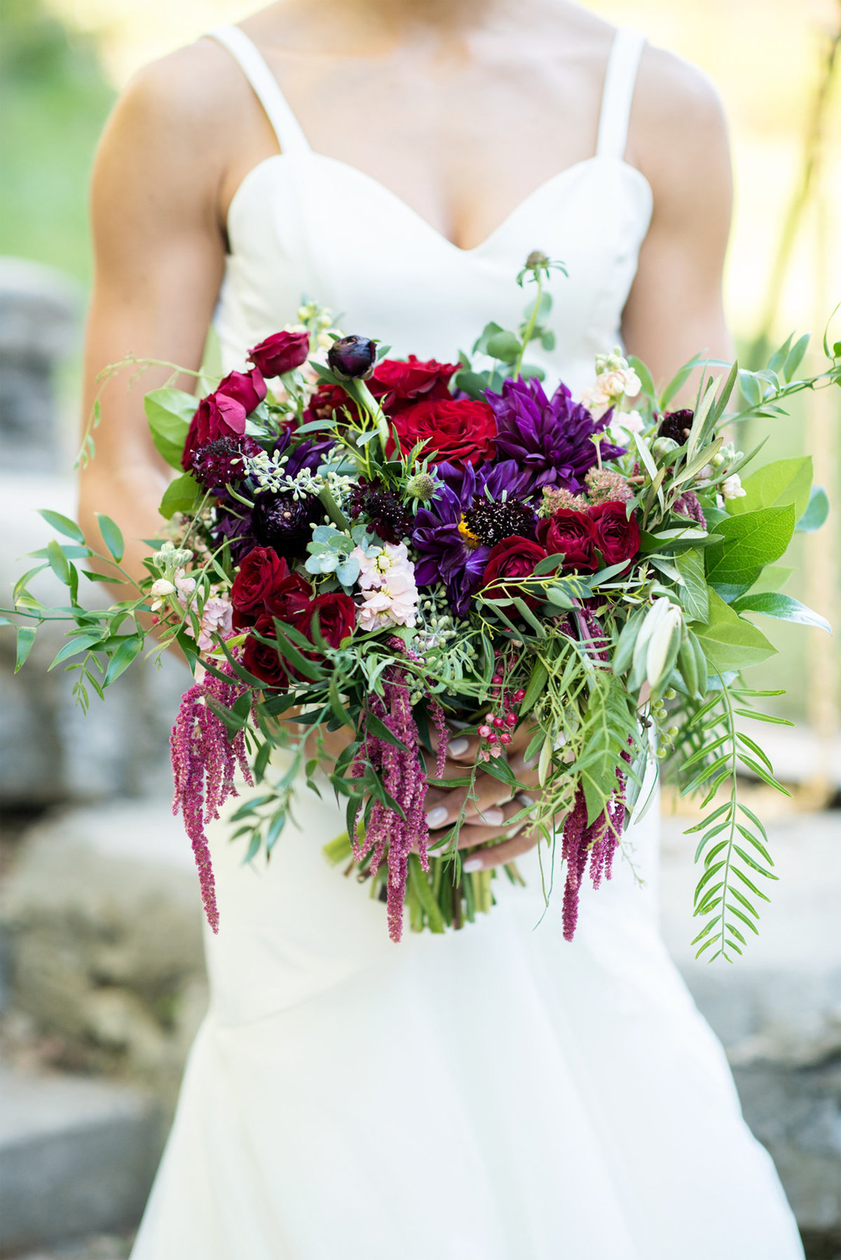 Good Earth bridal bouquet