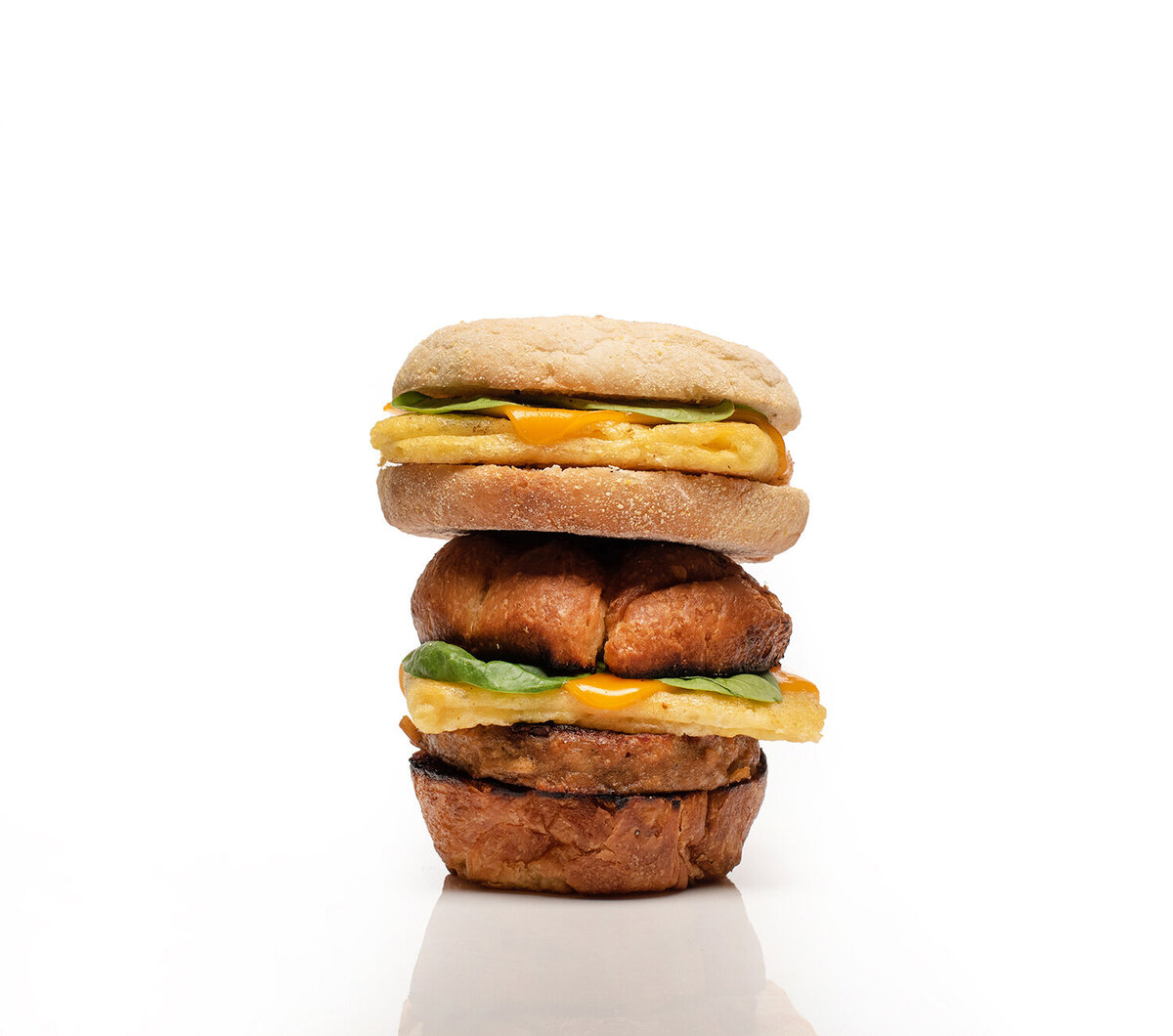 plant power fast food just egg vegan breakfast sandwiches