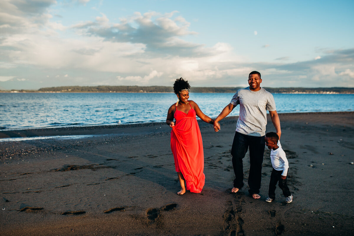 Camano Island Washington Maternity Photography-18